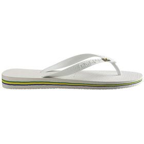 havaianas Brasil - Sandales - blanc